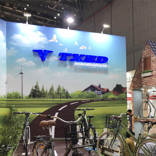 TXED BIKE in Recent Shanghai Cycle Fair 2018